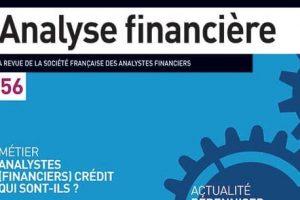 couverture revue analyse financière