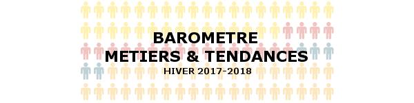 Baromètre métiers hiver 2017