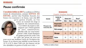 Agefi Bonus 2019 Risques